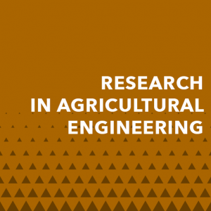 Research in Agricultural Engineering | Agricultural Journals
